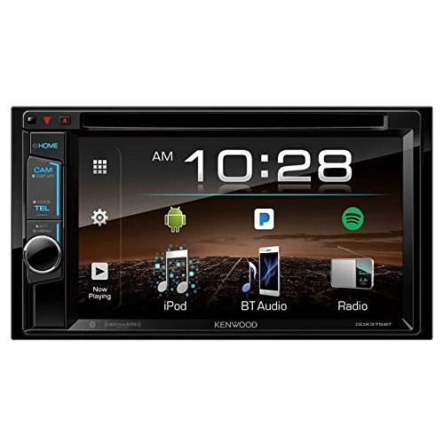 (Kenwood DDX375 2-Din 6.2 Inch Monitor Receiver with Bluetooth)