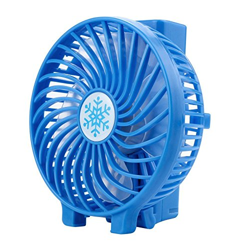 Scaling Personal Fans Mini Air Cooler Portable Handheld Rechargeable USB Fan Small Foldable Travel Camping Room Fans ()