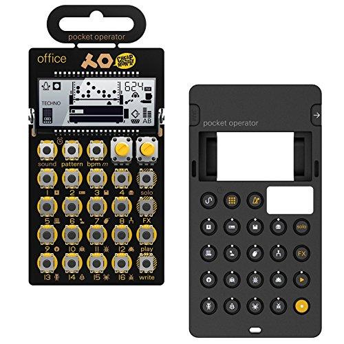 Teenage Engineering: PO-24 Office Pocket Operator + Silicone Case Bundle (Engineering Office)
