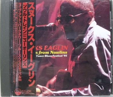Soul Train From Nawlins Live at Park Tower Blues by P-Vine Japan