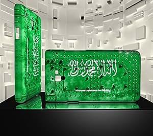 Funda Carcasa para Galaxy S2 Bandera ARABIA SAUDI 06