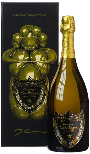 Dom Pérignon Vintage 2004 Jeff Koons Geschenkpackung, 1er Pack (1 x 750 ml)