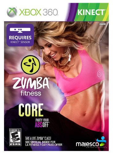 Xbox 360 Dvd Video Game - Zumba Fitness Core - Xbox 360