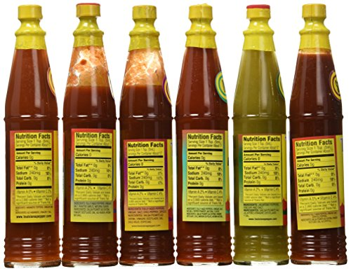 Louisiana Hot Sauce Gift Pack (3oz Per Bottle)