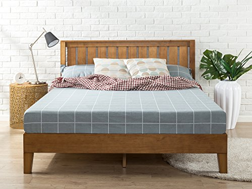 Zinus Alexis 12 Inch Deluxe Wood Platform Bed With
