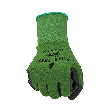 Bamboo Work & Gardening Gloves for Women & Men, Protective Second Skin Working Gloves - Medium