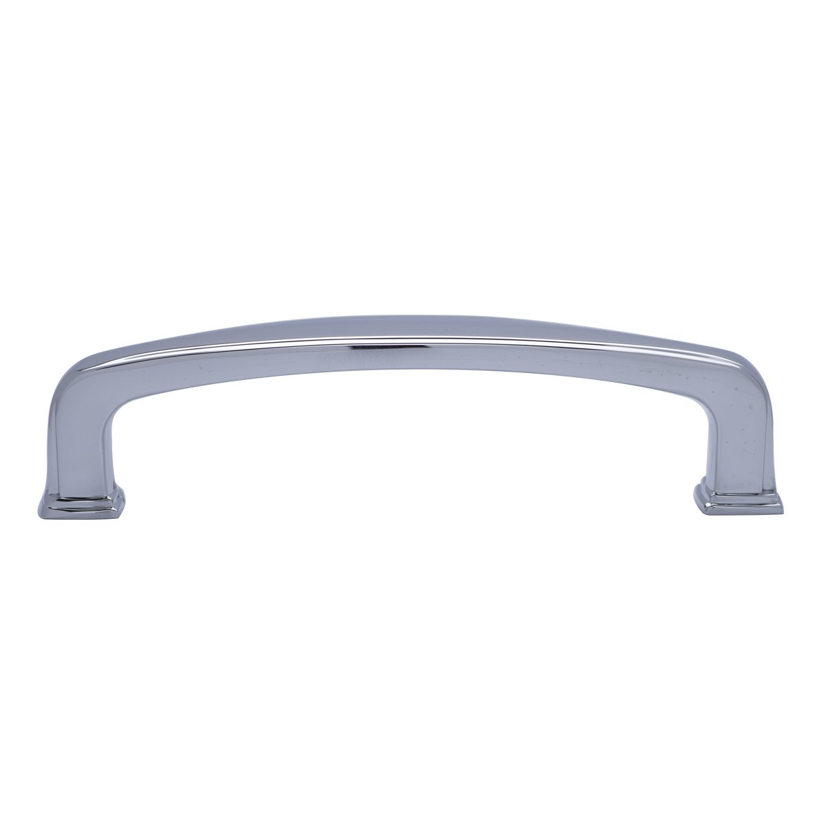 3.75 Hole Center Basics Traditional Arch Cabinet Handle Antique Silver 10-Pack 4.38 Length