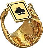 Dolce & Gabbana  Men's DG Spade Ring Gold 68