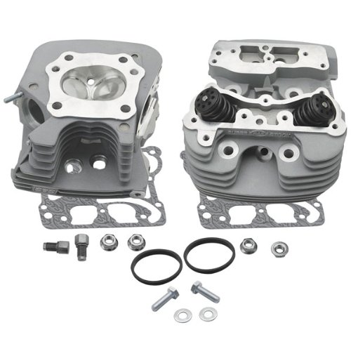 S&S Super Stock Cylinder Head Kit with 79CC Chamber Volume for Harley Davidson