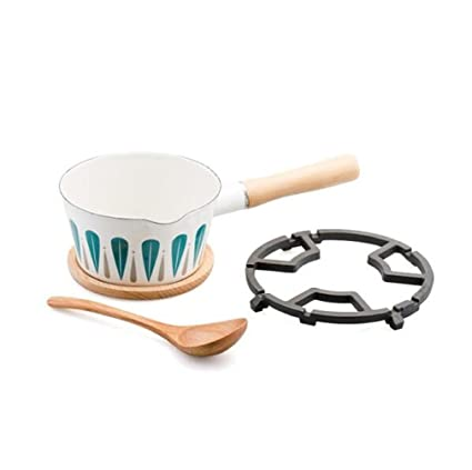 PLYY Juego de Utensilios de Cocina de Leche sin Tapa Bandeja guisado fácil de Limpiar 4