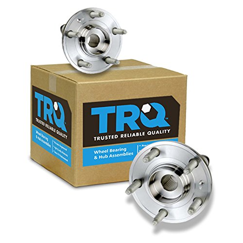 TRQ Front Wheel Hub & Bearing Pair Set for Ford 500 Five Hundred Taurus Mercury (Taurus Bearing Front Ford Wheel)