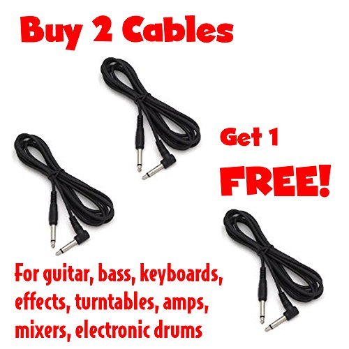 - Cable Corp Buy 2 Get 1 Free 10' Molded End Right Angle To Straight Instrument Cables (SC10X-3)