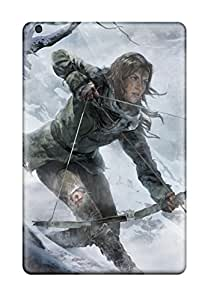 Best 6085794J11925886 Premium Rise Of The Tomb Raider 2015 Game Back Cover Snap On Case For Ipad Mini 2