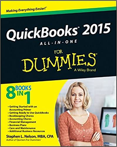 quickbooks all in one for dummies for dummies business quickbooks 2015 all in one for dummies for dummies business personal finance 1st edition