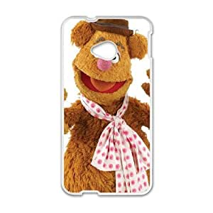 HTC One M7 Phone Cases White The Muppets Fozzy Bear FJo903376