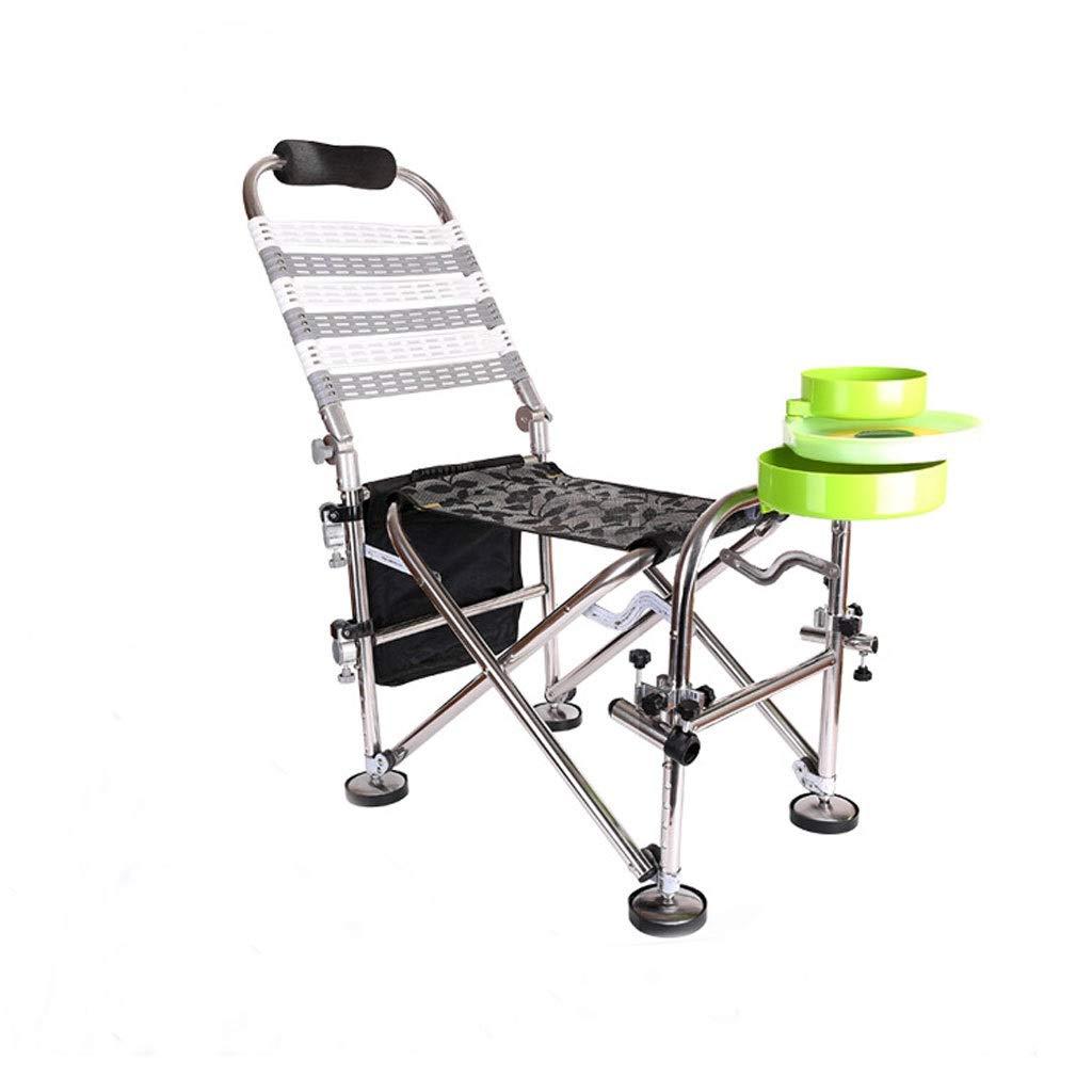 YYZDY12 Chaise de pêche Chaise de Chevalier Pêche en Plein air Camping Chaise Pliante pour Adulte  -
