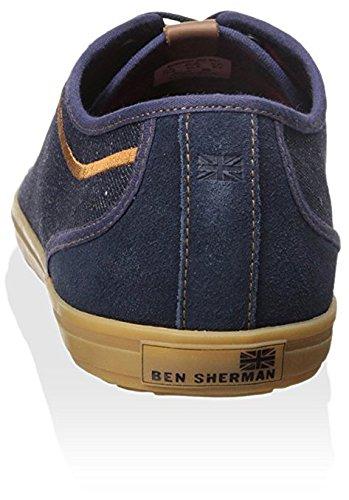 Ben Sherman Menns Conall Lo Mote Sneaker Denim