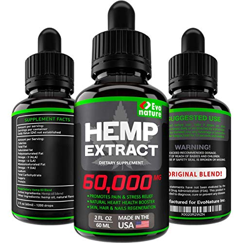 EVONATURE Hemp Oil 60