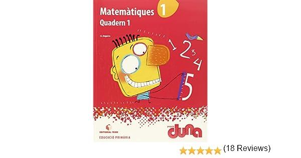 Matemàtiques 1r EPO - Projecte Duna - 9788430717255: Amazon.es: Segarra Neira, Josep Lluís: Libros