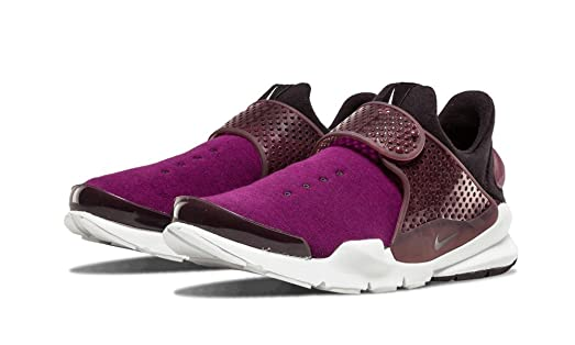 NIKE NikeLab Sock Dart Fleece Mulberry/Black/Night Maroon 834669-501 Men's  Shoe