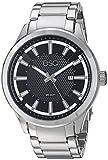 ESQ Men's 'Dress' Quartz Stainless Steel Casual Watch, Color Silver-Toned (Model: 37ESQE17001A)