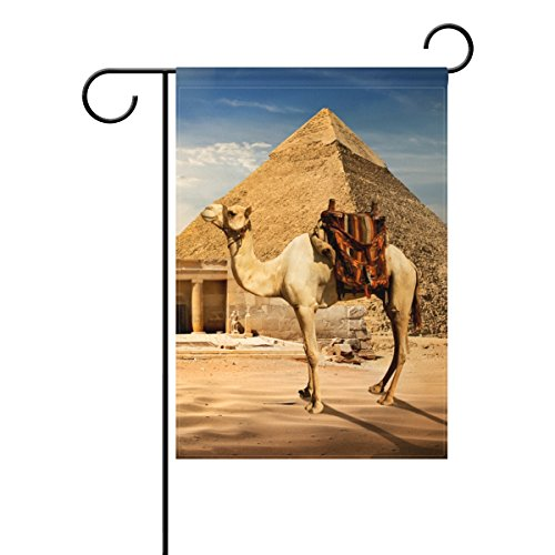 Black Licorice Vanity (Polyester Fabric Egyptian Sphinx And Pyramid Home Garden Flags, Mildew Resistant Custom Waterproof Outdoor Flag, 28