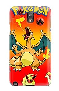 Hot YfCeCkA3878peAOV Case Cover Protector For Galaxy Note 3- Pokemon