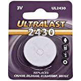 ULTRALAST UL2430 Lithium Button Battery (Discontinued by Manufacturer)