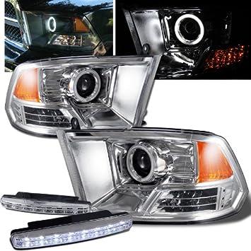 Dodge Ram 1500 Halo Scheinwerfer Projektor Lampen + 8 LED Nebel ...