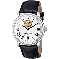 Frederique Constant Men's FC315M4P6 Persuasion Stainless Steel Watch with Black Band