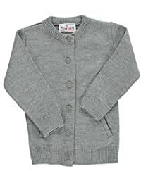 Cookie's Brand Little Girls' Crewneck Cardigan Sweater