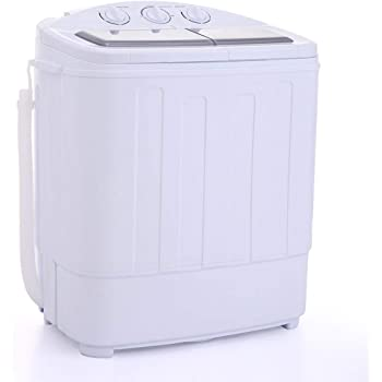 jaxpety portable washing machine compact wash spin dry cycle laundry home kitchen. Black Bedroom Furniture Sets. Home Design Ideas