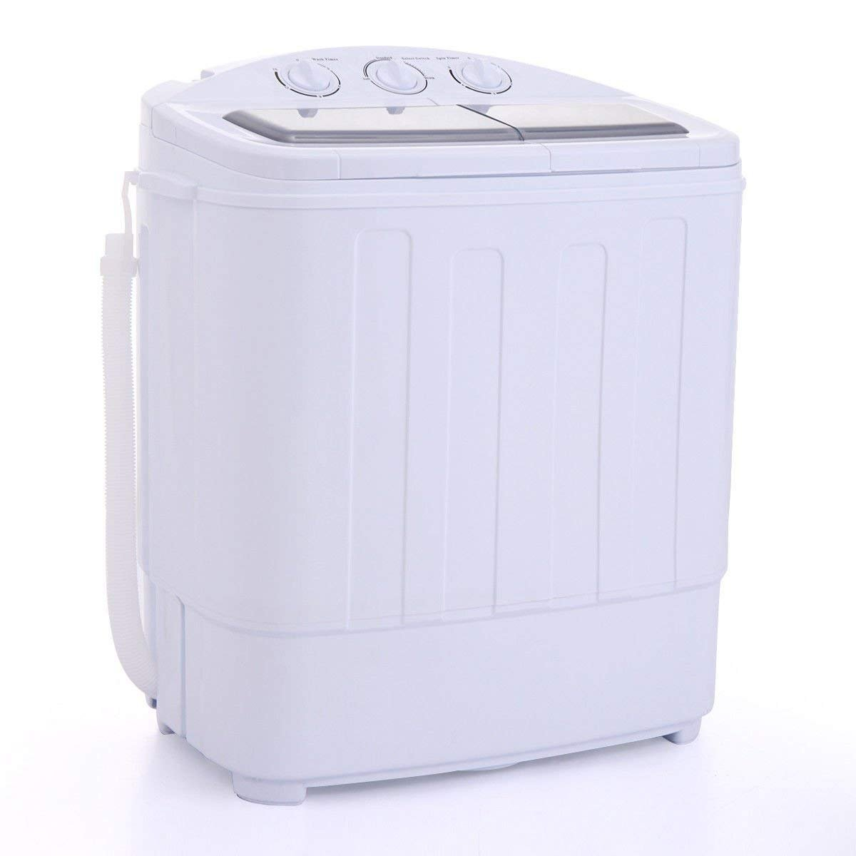 JAXPETY Portable Washing Machine Compact Wash Spin Dry Cycle Laundry