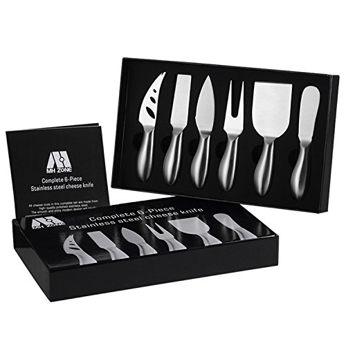 Premium 6-Piece Cheese Knife Set