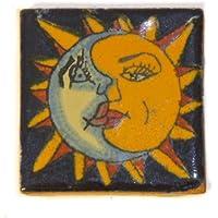 Azulejos Mexicanos Artesanales de Talavera de 5cm