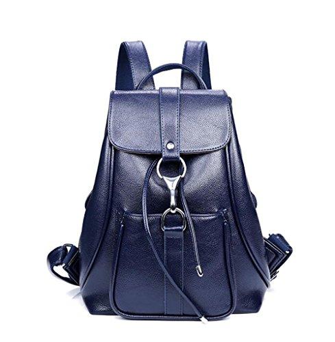 sac multifonctionnel des cuir décontracté à sac PU la main 25 en souple 32cm femmes dos mode Sac 13 de à nxz4PnX