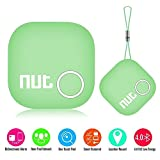 Smart Tag Bluetooth Anti-lost Tracker Key Finder Pet Wallet GPS Tracker Locator Alarm Patch GPS Tracker Locator for iOS/iPhone/iPod/iPad/Android (Green)