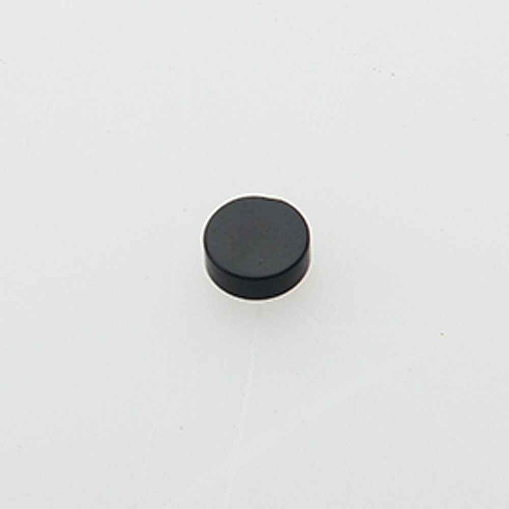 Kmise z4956 100 PieceギターFingerboardドット位置マーカー6 mm、ブラック   B010W6XHGA