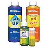 Hydroponics pH Control 8 oz UP 8 oz Down 1 oz Indicator General Kit