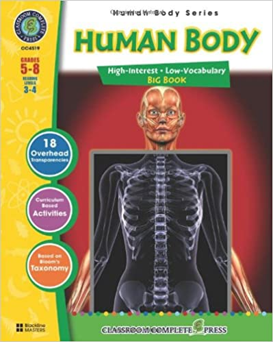 Big Book of the Human Body for 5th 6th 7th 8th grade kids