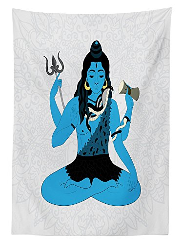 yoga-decor-tablecloth-mythical-oriental-indian-god-in-yoga-pose-faith-belief-symbol-avatar-of-univer