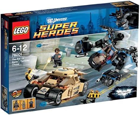 LEGO Super Heroes The Bat vs Bane Tumbler Chase