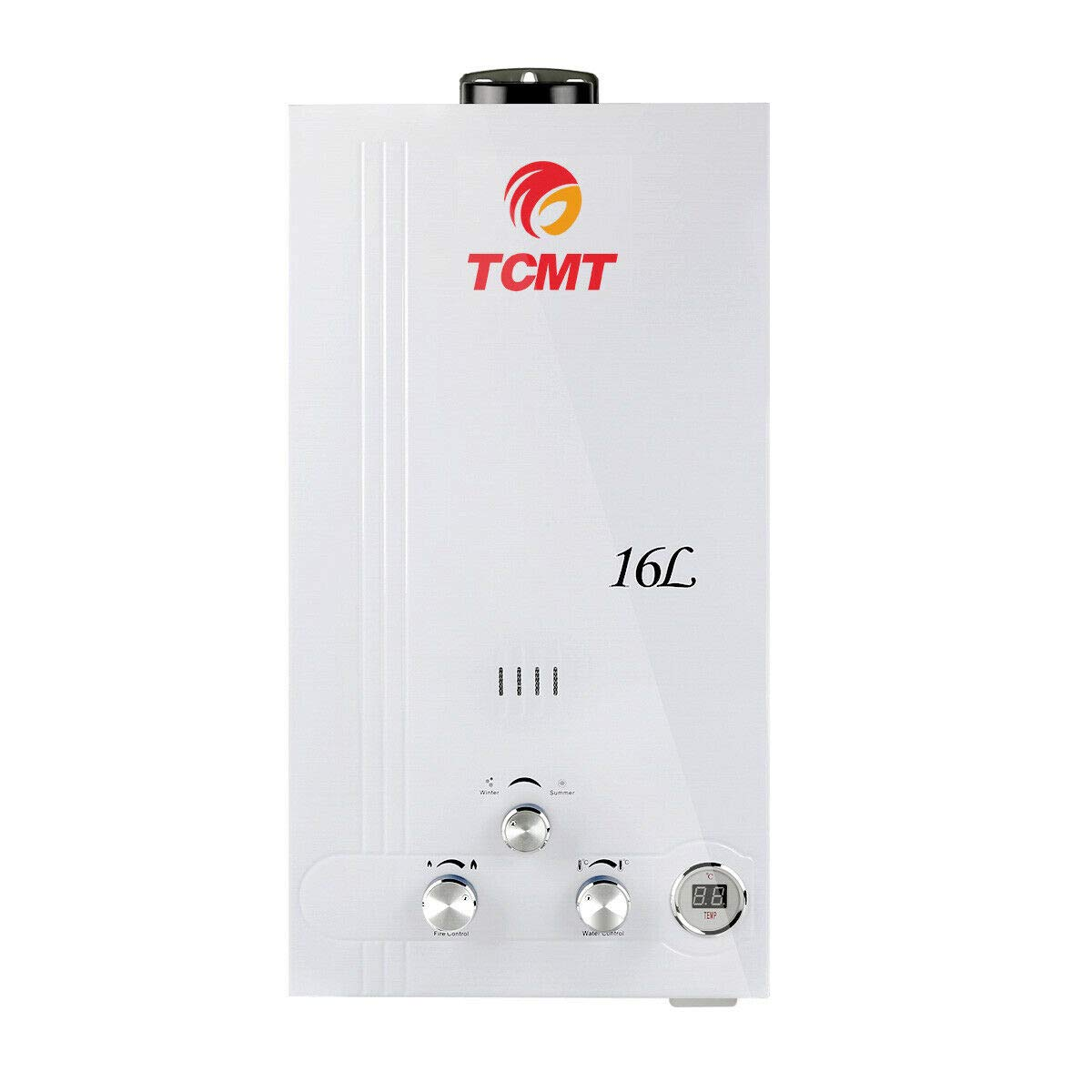 TC-Home Natural Gas 16L Digital Display 4.2 GPM 32 KW Instant stainless steel Hot Water Heater