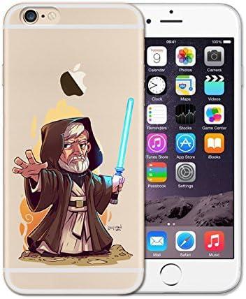 CH marrone blu Obi-Wan Kenobi iPhone 7 case cute Small Cartoon ...