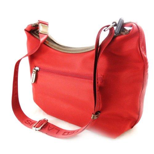 Sacca a tracolla borsa 'Ted Lapidus' rosso.