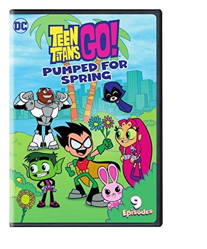 DVD : Teen Titans Go! Pumped For Spring (Amaray Case)