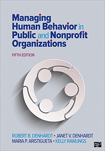 ior in Public and Nonprofit Organizations ()