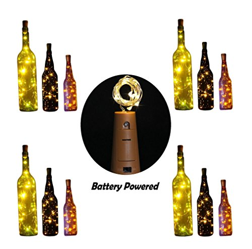 Halloween Decorations Target (10 LED Bulbs Cork Lights Battery Powered (12 pcs) - 39 Inch Long String Wine Bottle Cork Fairy Lights for Bottle DIY, Table Decorations, Christmas, Wedding, Dancing, Halloween, Party, Festival Decor)