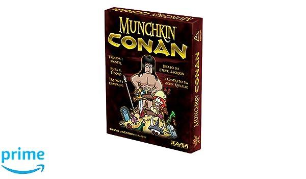 Raven – Munchkin Conan: Steve, Jackson: Amazon.es: Juguetes y juegos