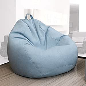 Amazon.com: Puf Lazy sofá creativo sofá individual recámara ...
